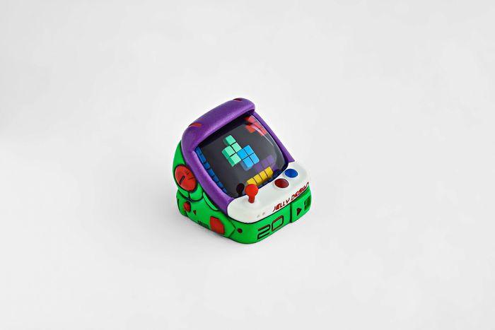 Touche de clavier en forme de bornes arcade par Jelly Key