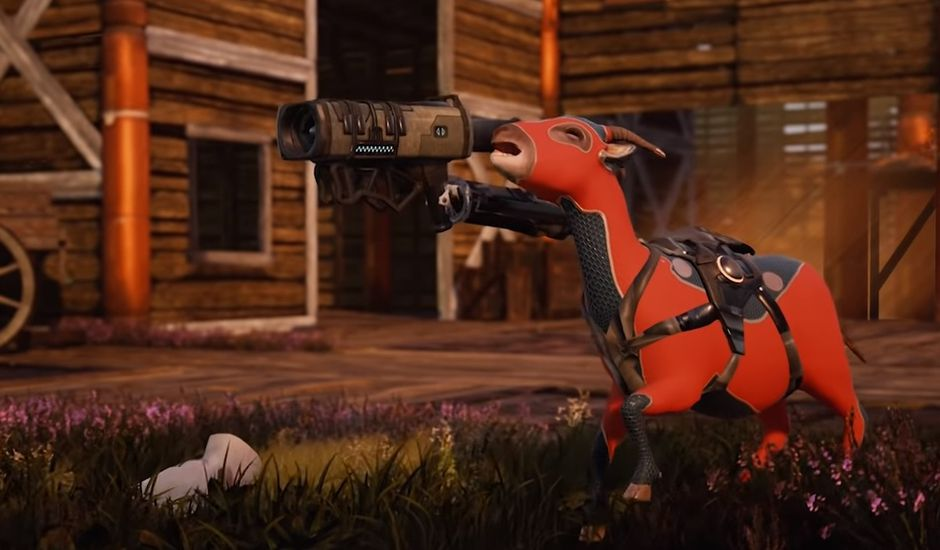 Le jeu Goat of Duty disponible en Early Access