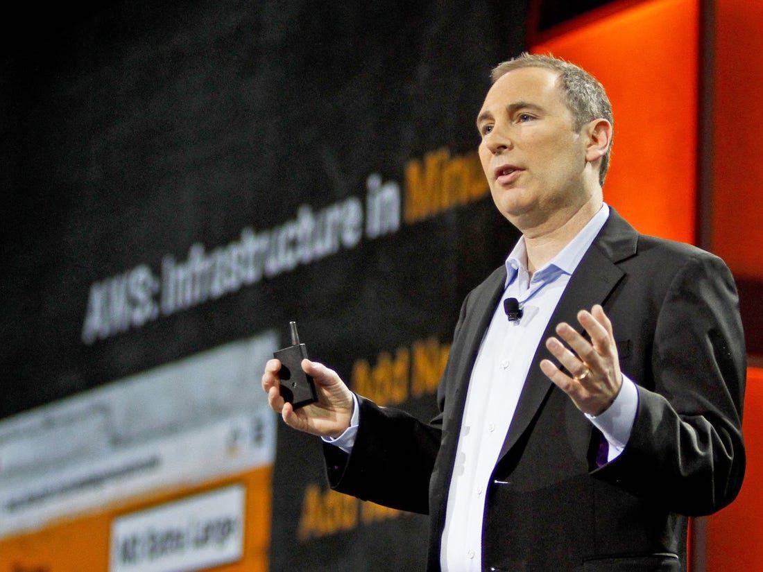 Photo CEO d'AWS