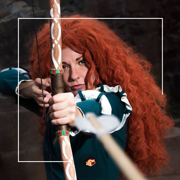 merida cosplay deedee rebelle