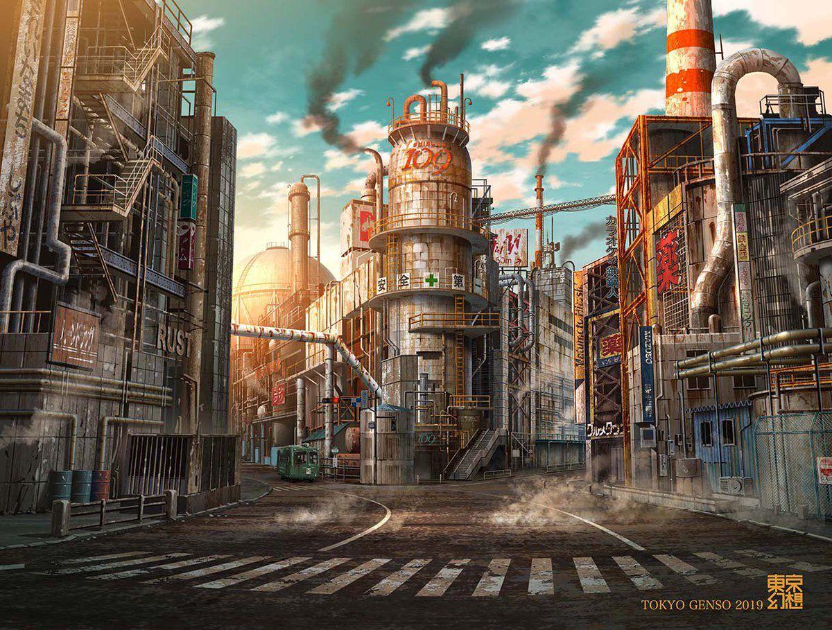 artworks tokyo post-apocalyptique shibuya