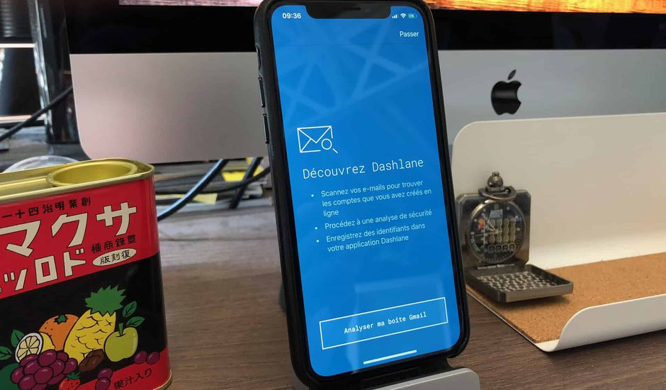 Dashlane iPhone inbox security scan