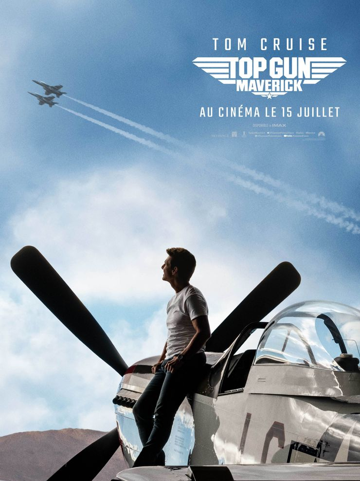 affiche top gun maverick tom cruise paramount