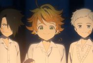 Ray, Emma et Norman dans The Promised Neverland