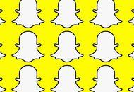 Snapchat : de multiples logos sur fond jaune.