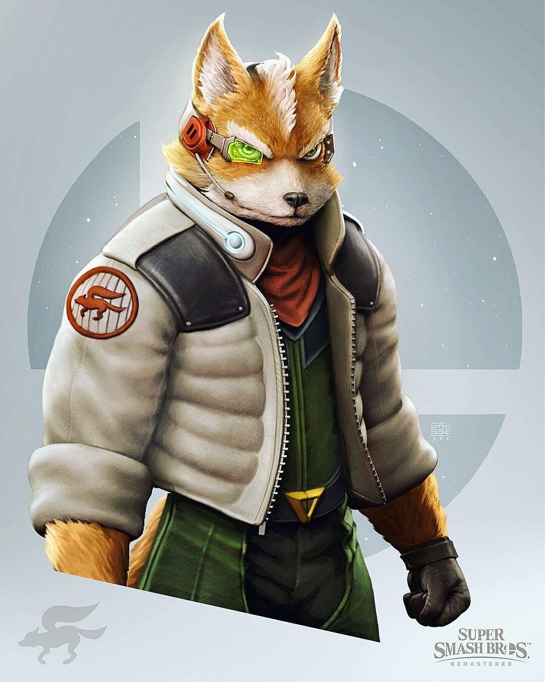 artworks fox mccloud