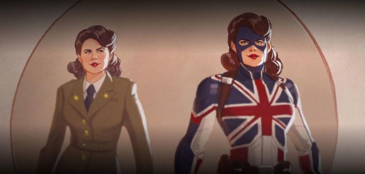 what if peggy carter marvel