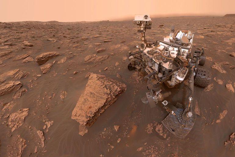 Le rover Curiosity trouve des signes de vie en la présence d'un fort taux de méthane sur Mars