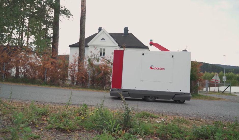 Buddy Mobility : le robot autonome qui va livrer le courrier aux Norvégiens
