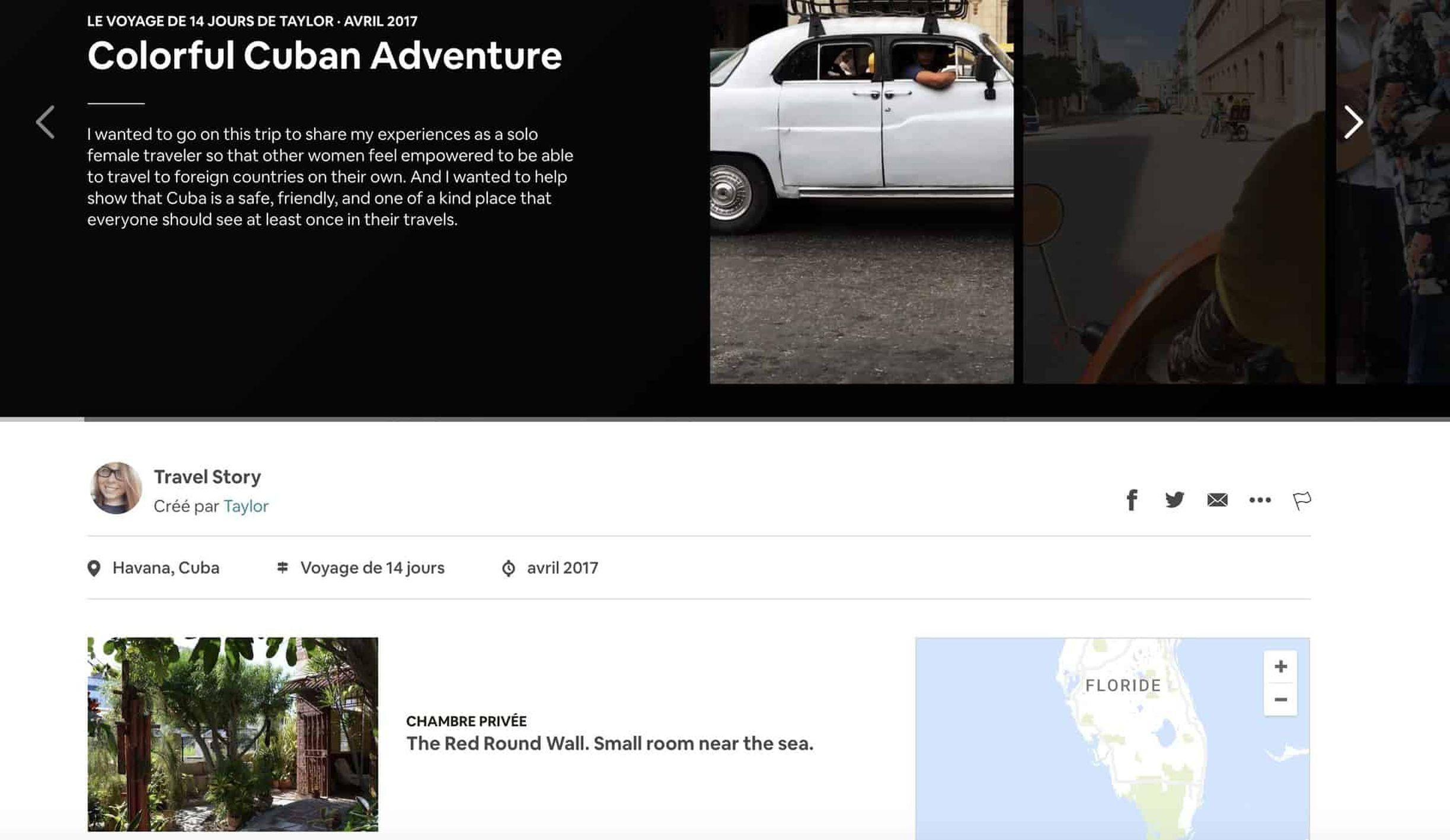 Airbnb lance les «Travel Story », une sorte de Snapchat du voyage
