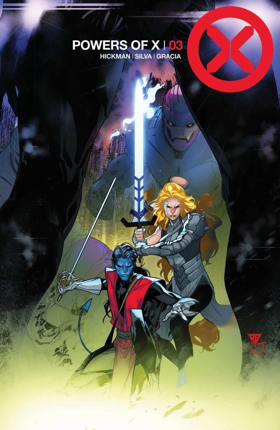 comics x-men powers of x