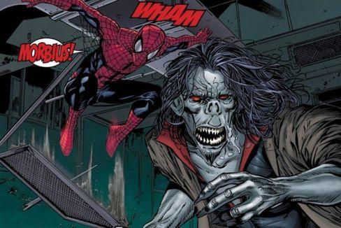 Morbius et Spider-Man