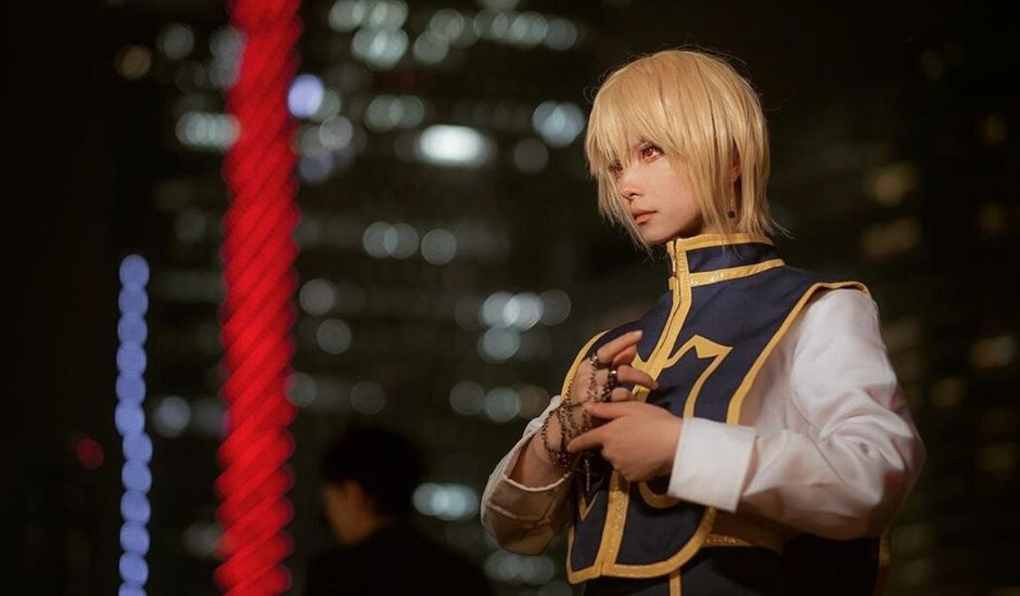 kurapika cosplay hunter x hunter