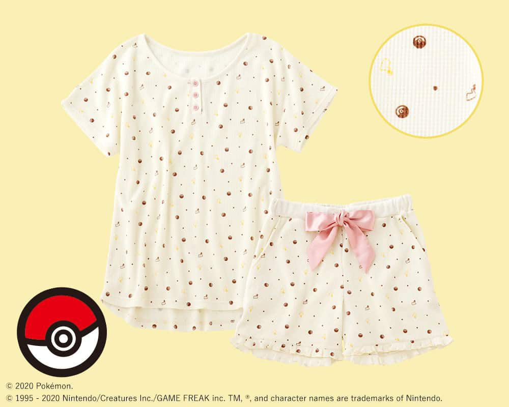 pyjama Poké Ball pour la collection Pokémon Girls de Peach John