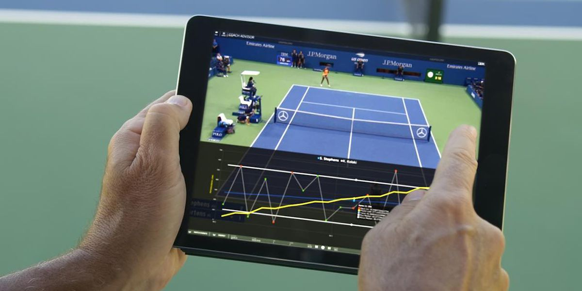 Coach Advisor : l'IA créée par IBM pour mesurer les performances des tennismen