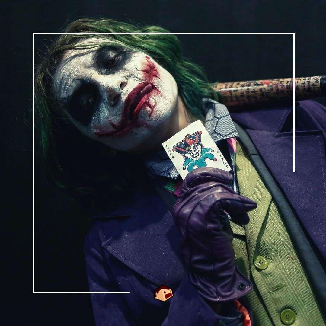 cosplay joker the dark knight