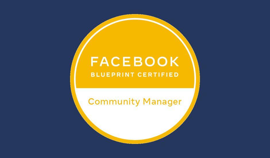La certification Facebook pour les Community Managers.