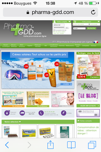 site pharmacie