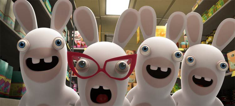 lapins cretins invasion ubisoft france television netflix