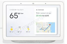 Google Home Hub, des photos de la future enceinte connectée de Google avec écran dévoilées