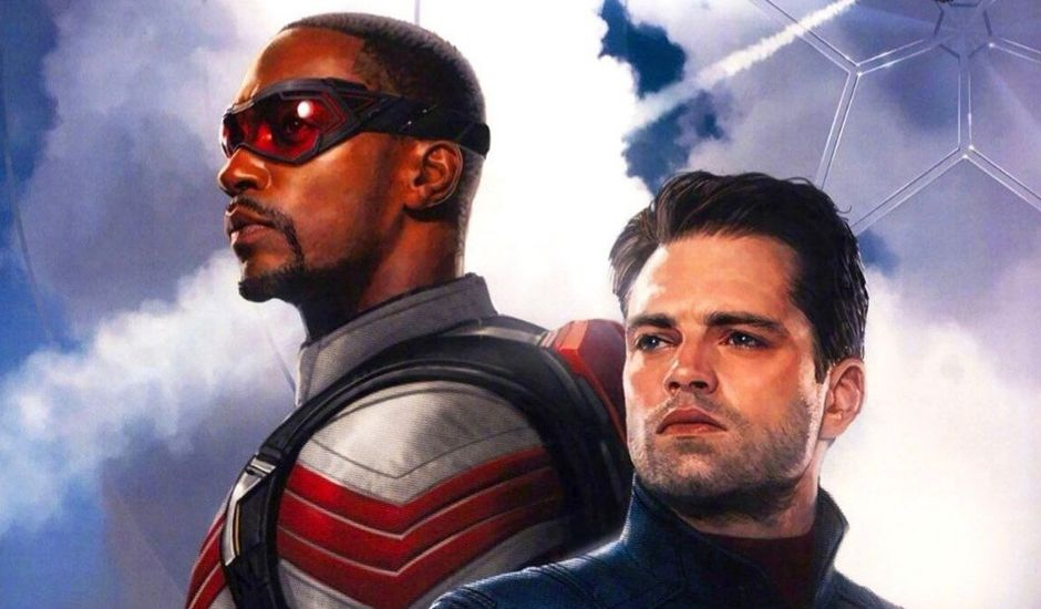 the falcon and the winter soldier serie disney plus marvel sam wilson bucky barnes