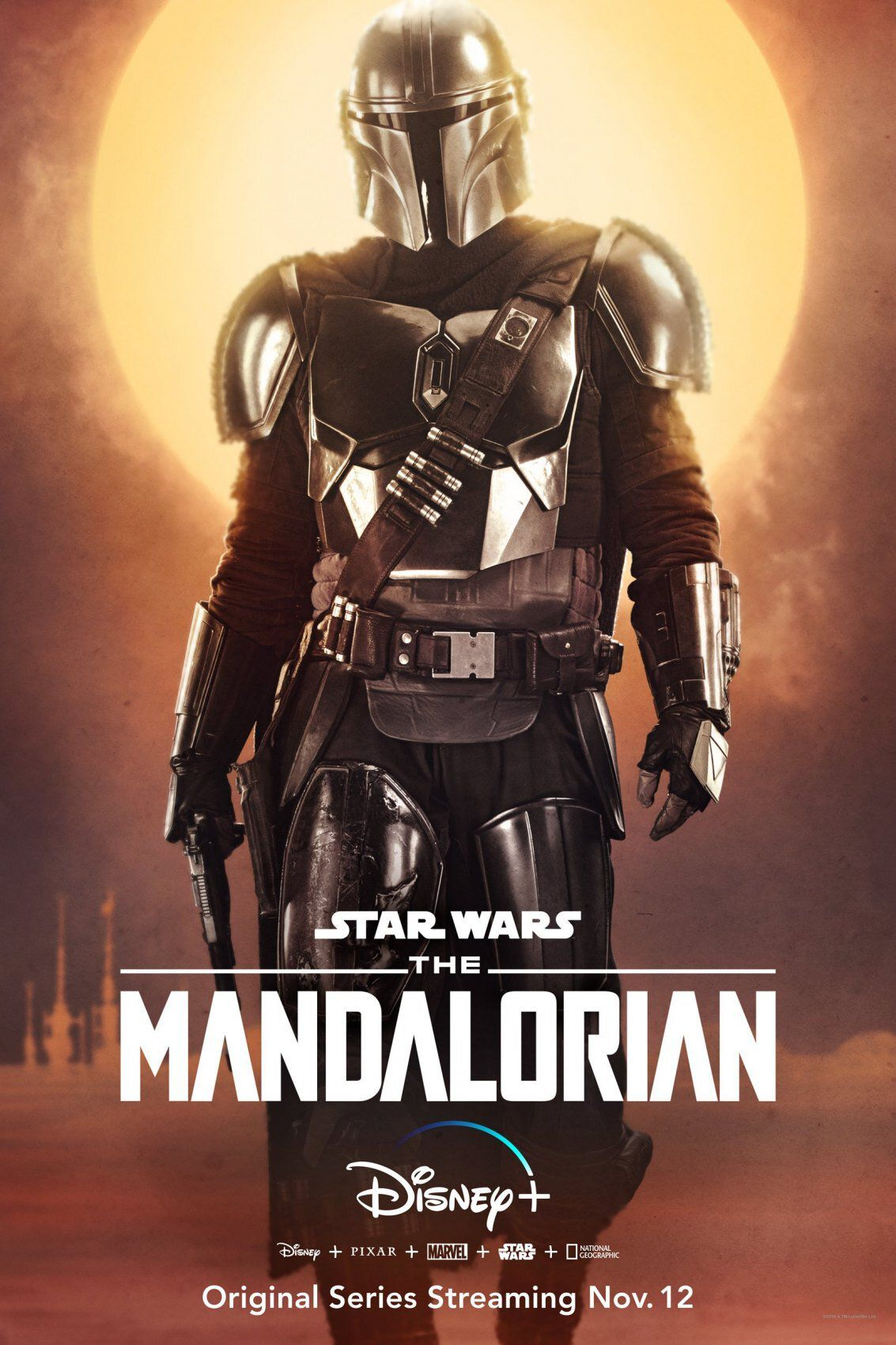 The Mandalorian interprété par Pedro Pascal