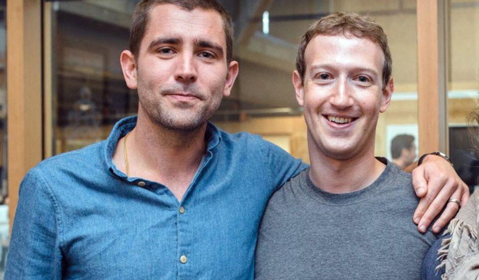 photo de Chris Cox et Mark Zuckerberg