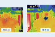 Aperçu des effets du Reon Pocket de Sony.