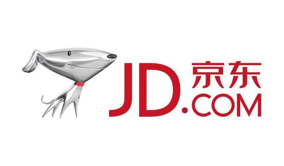 Le logo de JD.com