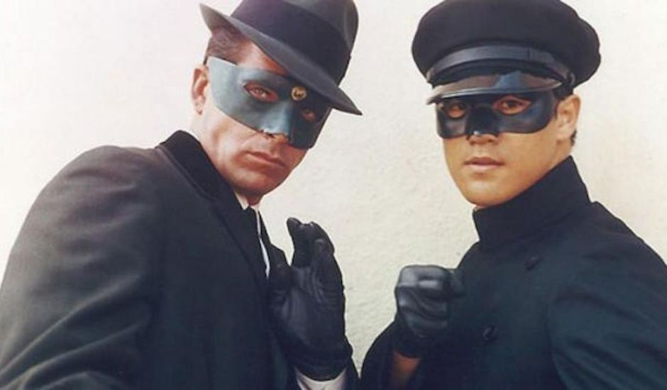 Van Williams et Bruce Lee dans Green Hornet