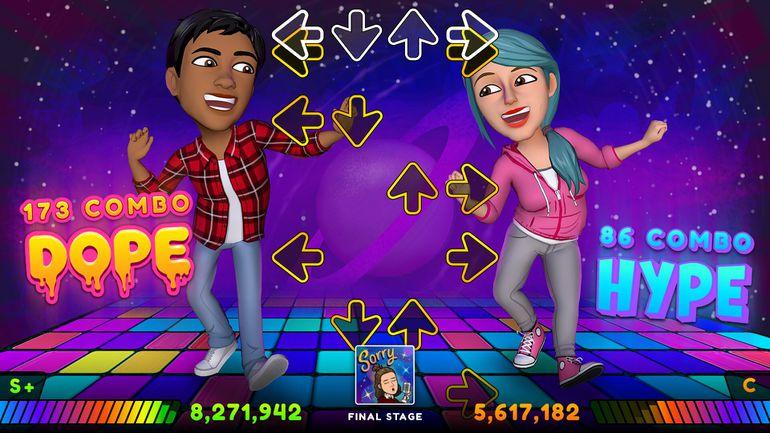 personnalisation de jeu vidéo avec les Bitmoji
