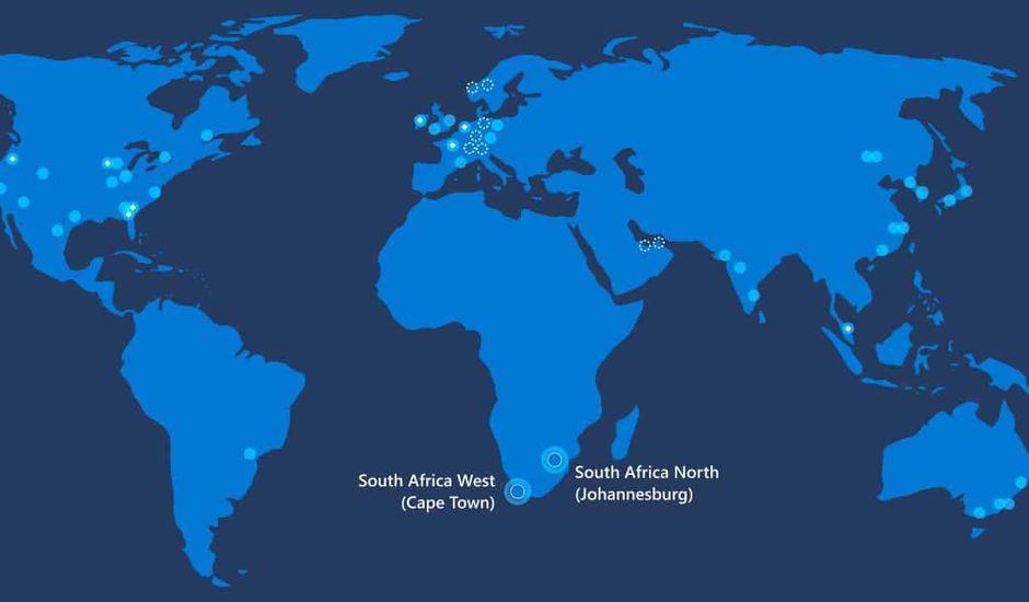 Microsoft lance un service de Cloud en Afrique