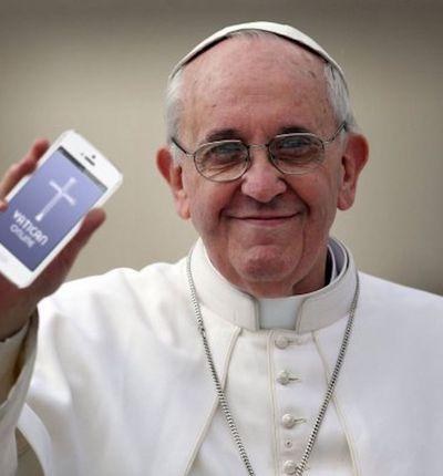 Le Pape François et la reconnaissance faciale.