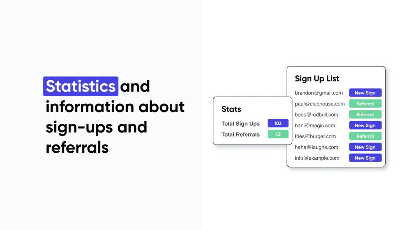 statistiques Waitlist API