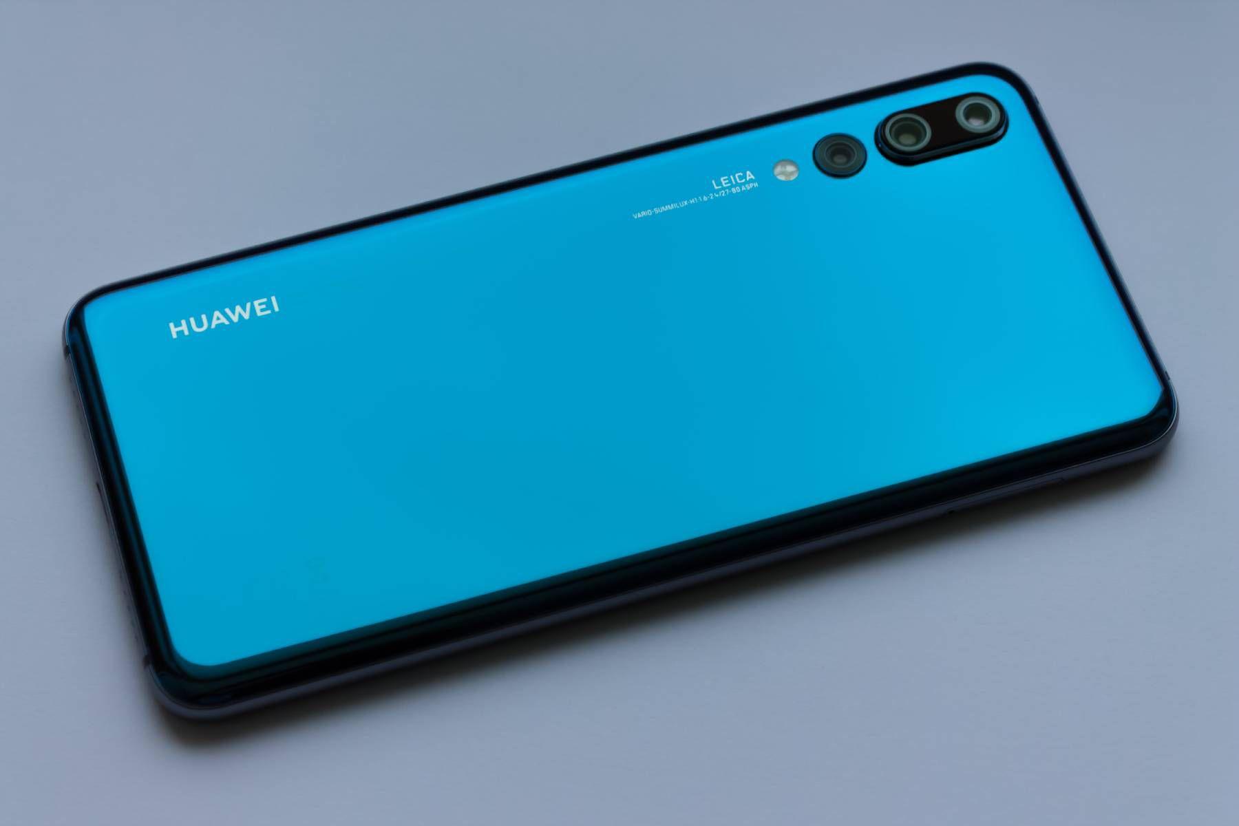 Un smartphone Huawei.