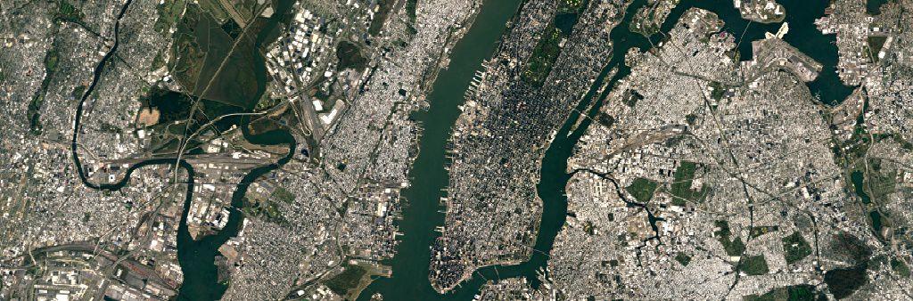 Google Maps imagerie NEW YORK 1