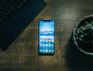 Aperçu d'un smartphone Android.