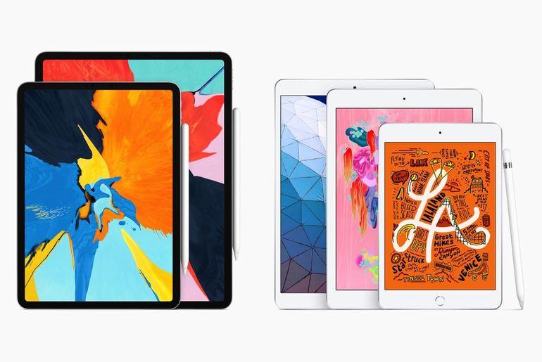 Apple présente ses nouveaux iPad entrée de gamme