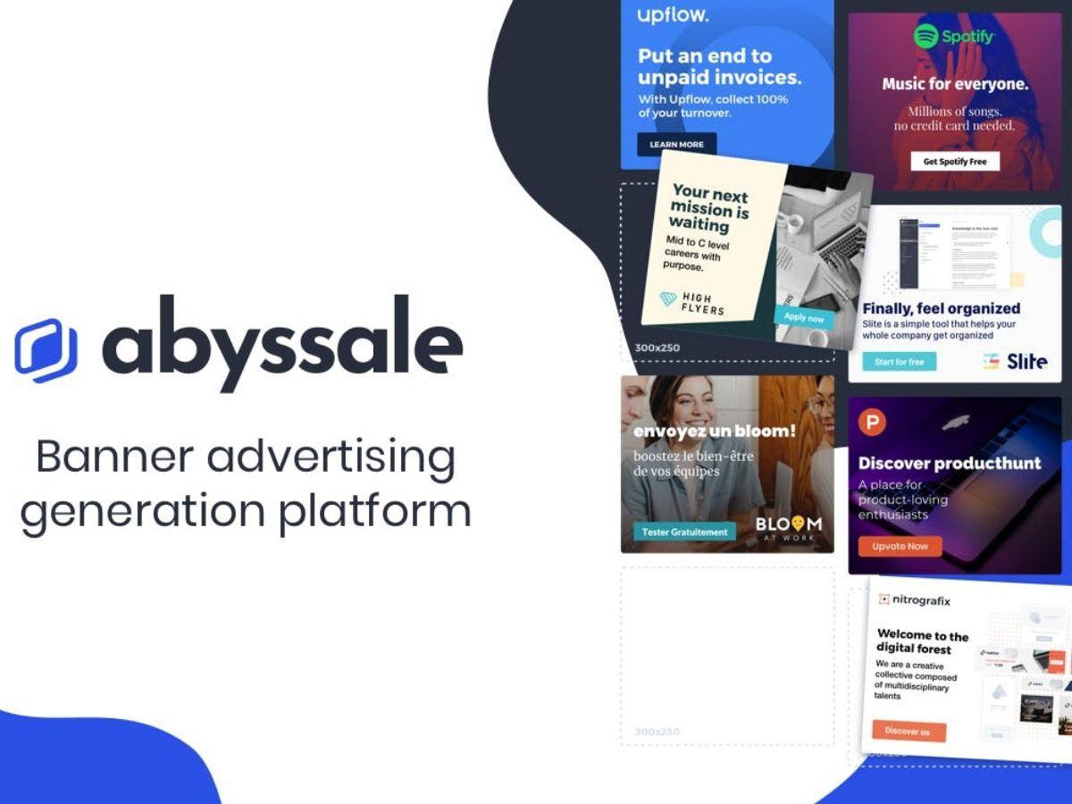 Abyssale : un outil pour générer vos bannières publicitaires automatiquement et gratuitement