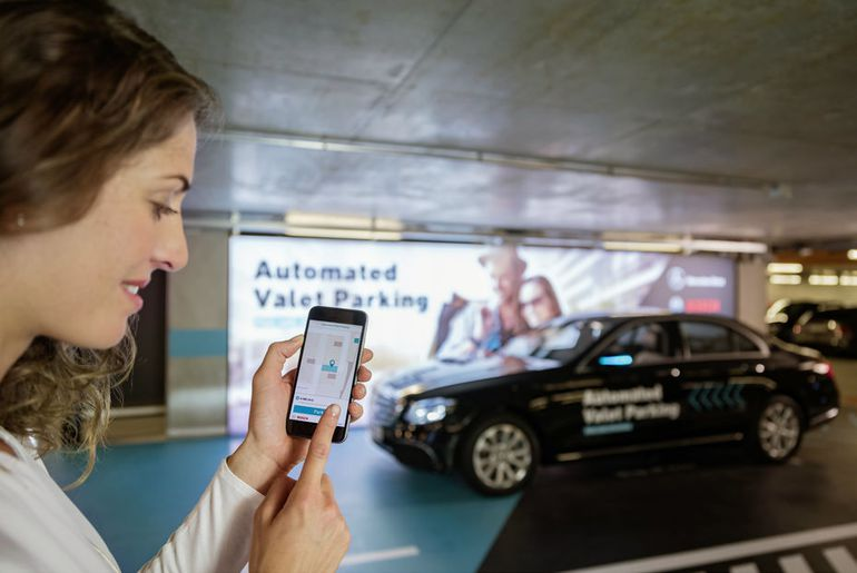 Daimler et Bosch créent un parking pour voitures autonomes