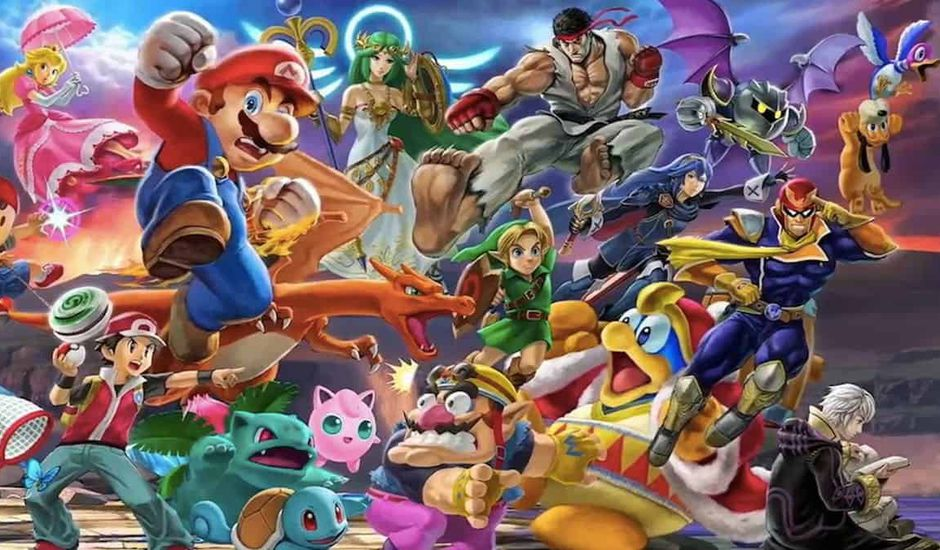 personnages super smash bros Ultimate sur nintendo switch