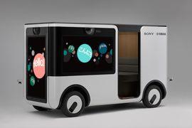 La voiturette autonome SC- créée par Sony et Yamaha
