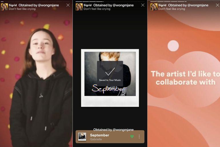 Spotify teste des stories dans ses propres playlists