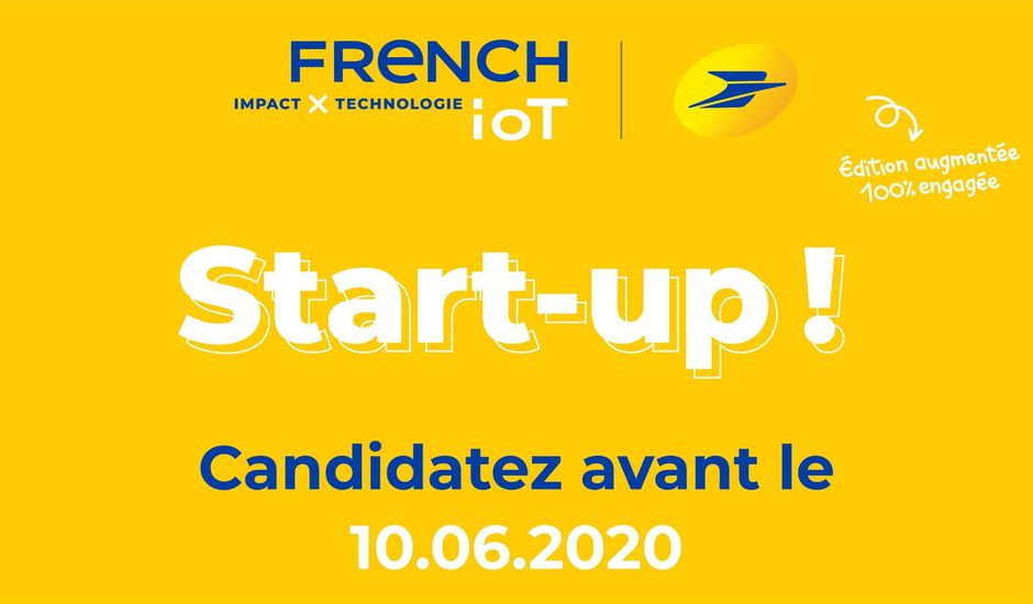 French Iot La poste