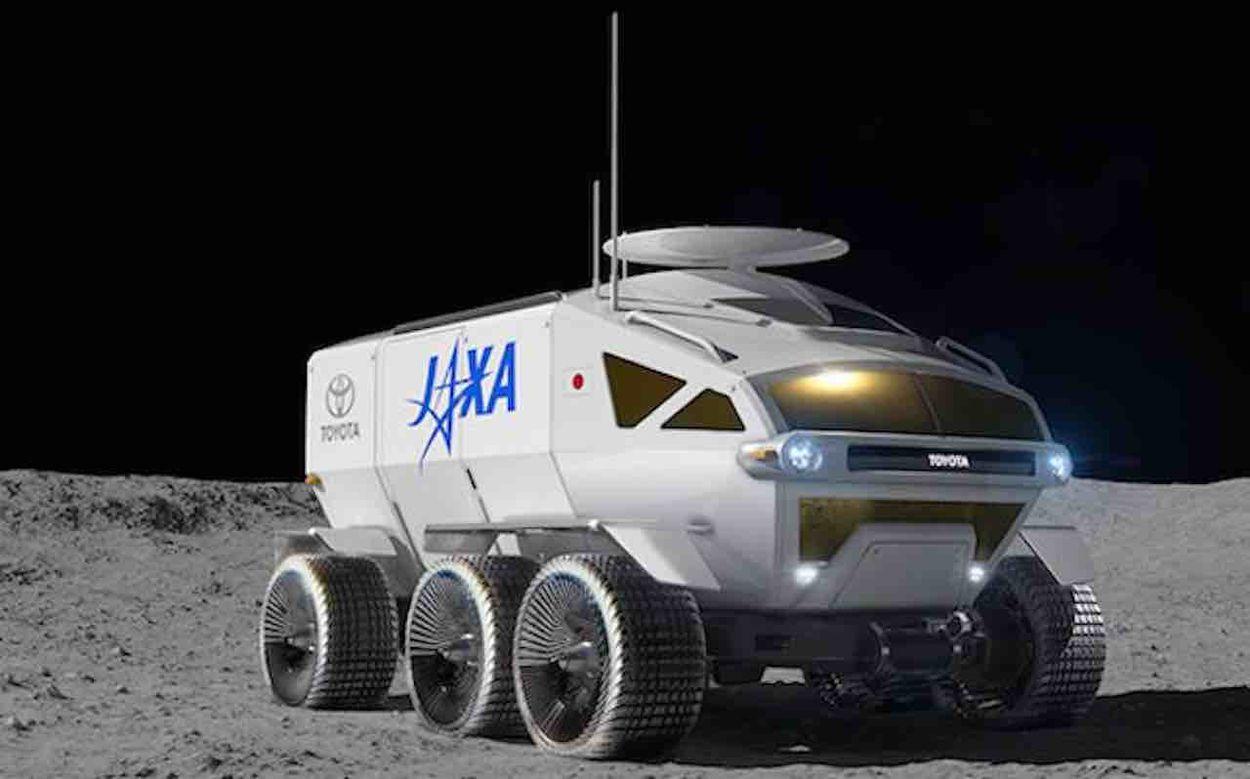 Toyota va passer 10 ans sur le rover japonais qui ira sur la Lune