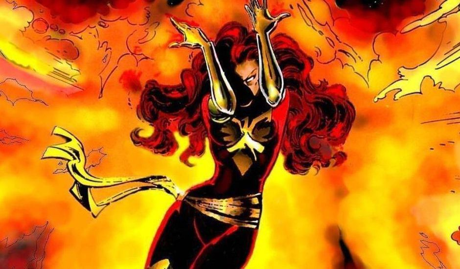 Comics Jean Grey Dark Phœnix