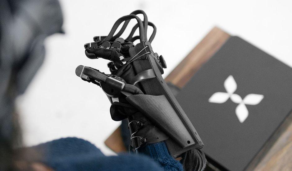 À la découverte des gants VR développés par HaptX