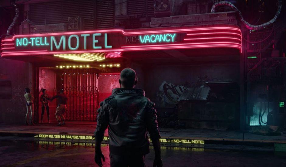 Extrait de la bande-annonce de Cyberpunk 2077
