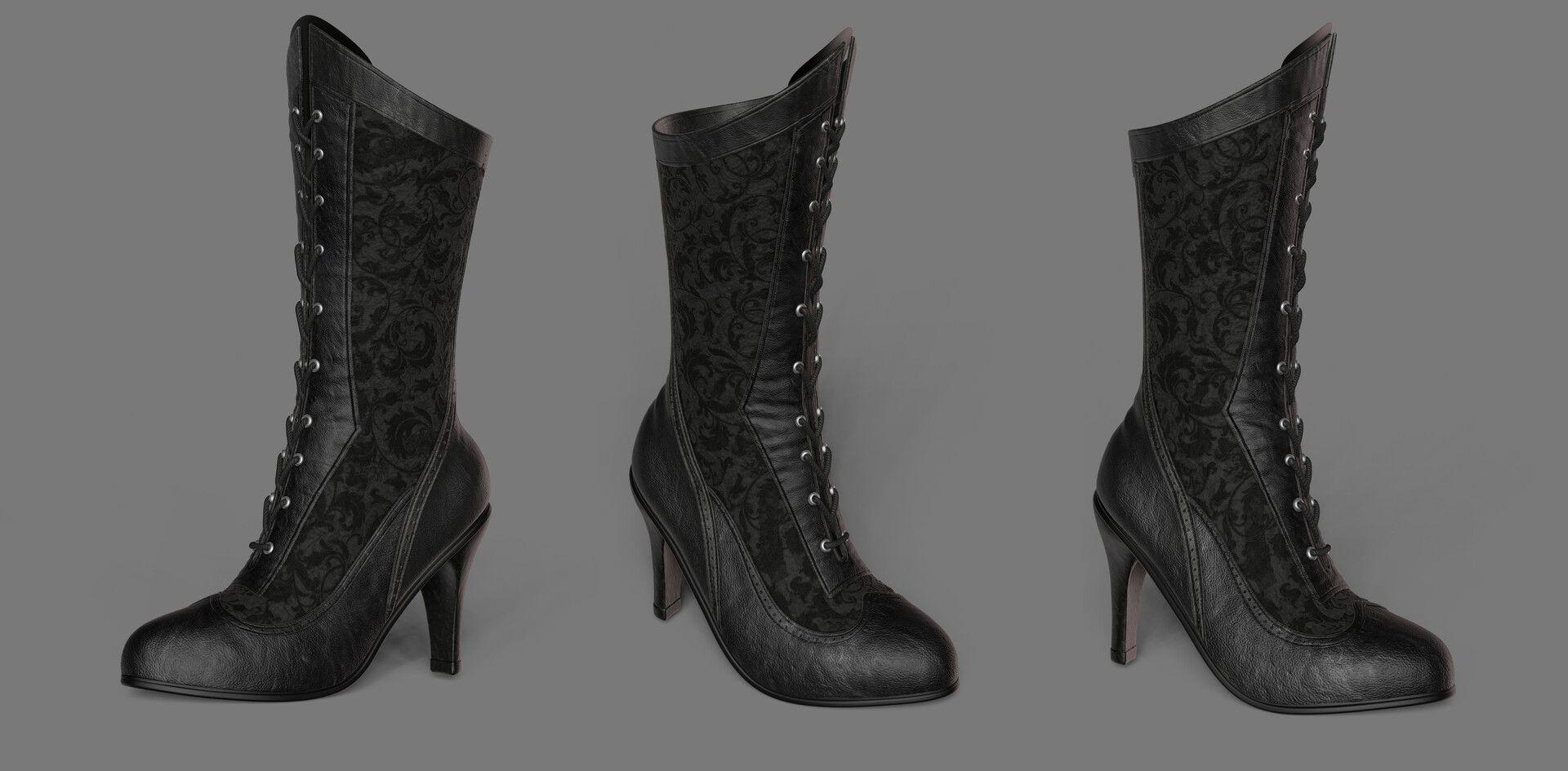 chaussure à talon de catwoman au 19e siècle