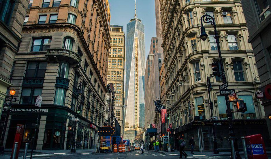 Wall Street à New York.
